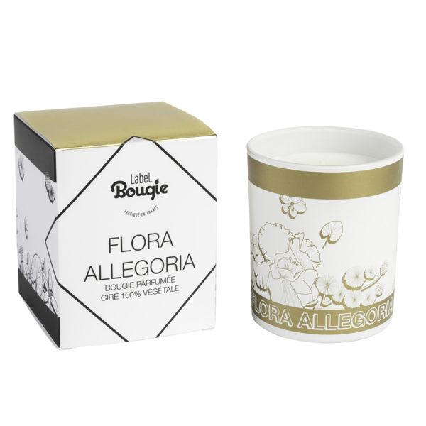 bougie flora allegoria